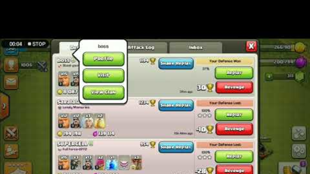 Clash of Clans: Most heroic defence by TH 6 from TH 7.