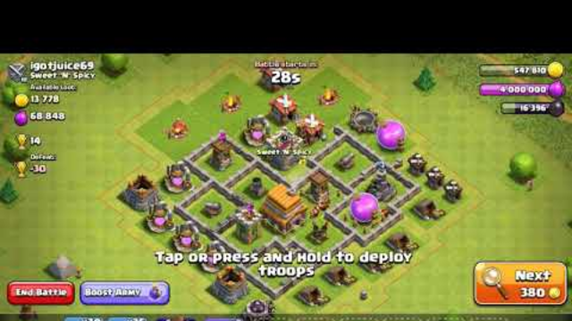 Clash of clans Best th7 STRATEGY!!!!