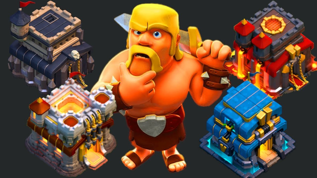 CHILLING OUT, GOBLIN FARMING, AND BASE REVIEWS??? CLASH OF CLANS