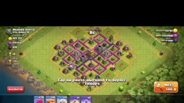 LUCKY TO GET 2 STARS   ANGRY ANGELS   TOWN HALL 7 ATTACK   CLASH OF CLANS