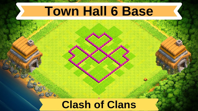 NEW TH6 BASE With Copy Link | Town Hall 6 Base Design - Clash of Clans