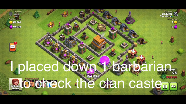 How to easily 3 star someone in clash of clans for TH6