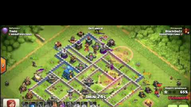 CLASH OF CLANS - Perfect th11 sur th12 en MOBAL CLONAGE