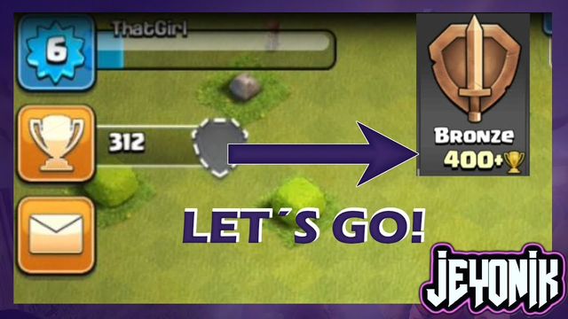 On our Way to Bronze League with Townhall 2!   Let's Play Clash of Clans 2019 ep9