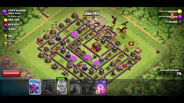 TH 10 AIR ATTACK COC||GAMING LIVE|| ANDROID GAMEPLAY