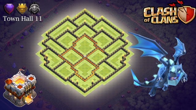 Town Hall 11 Farming Base 2019 - Clash of Clans (TH11)