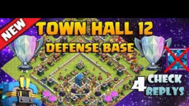th12 defence/farming | clash of clans