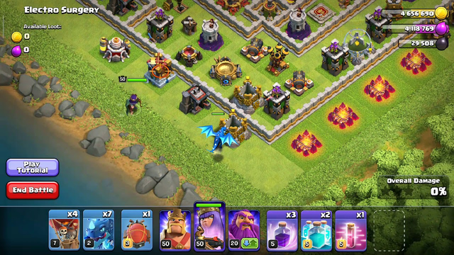 First time I did Electro surgery in coc