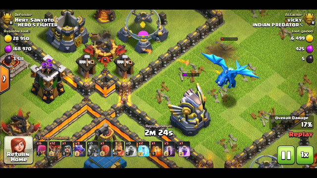 CLASH OF CLANS || STRONGEST DRAGONS + LOONS ATTACKS STARTERGY SMASH ANY TH12 WITH TEAM PREDATOR