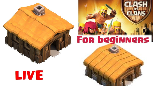 STARTING CLASH OF CLANS GUIDE FOR NOOB TH1||GAMING LIVE|| ANDROID GAMEPLAY