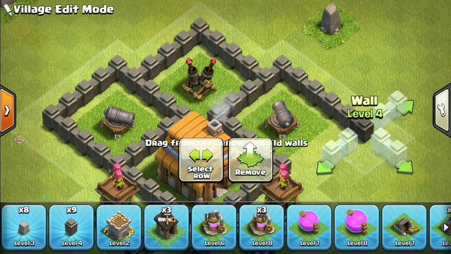 Clash of clans level 4 town hall best defense