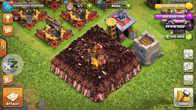 1000 max Hogs vs 500 max Bows ( Clash of Clans) . Unbelievable and Satisfying.