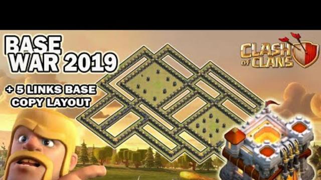 Top 5 TH 11 War Base | Trophy Base | Farming Base anti 3 Start | + 5 Links Base | Clash of Clans