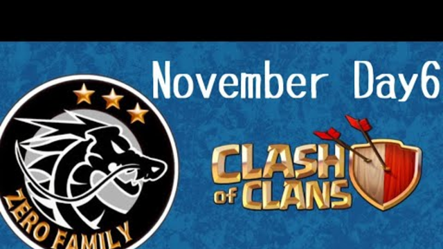 TH12 ZERO FAMILY November Clan War Attack Strategy Clash of Clans