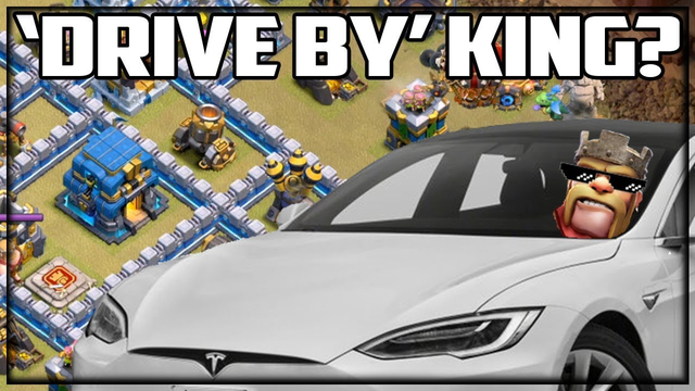 DRIVE BY Barbarian King? Clash of Clans Strategy from PROS!
