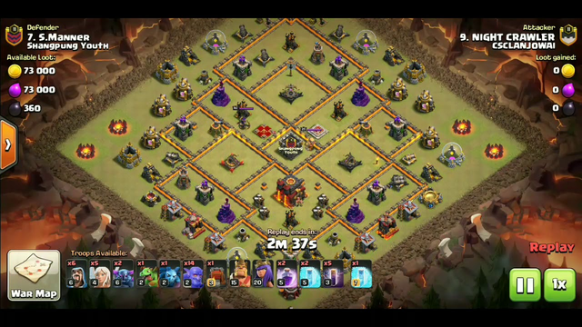 HOW TH1O OVERPOWER TH11 || WAR ATTACK || CLASH OF CLANS