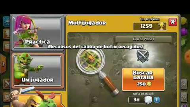 Atacando th 5 /clash of clans
