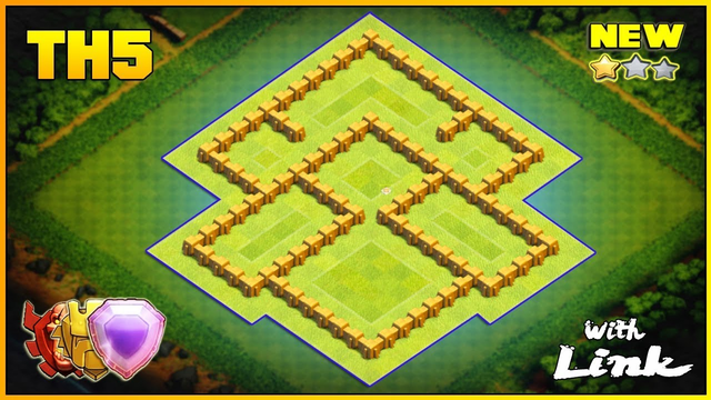 NEW BEST TH5 Base 2019 with COPY LINK - Clash of Clans