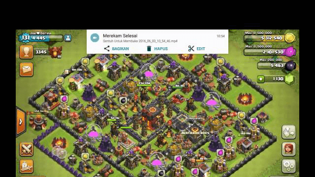clash of clans attack strategy town hall level 9