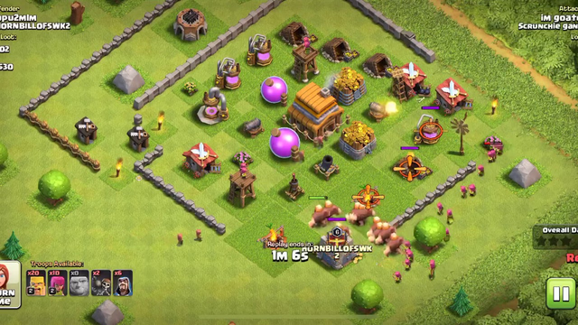 Best clash of clans town hall 4-6 attack
