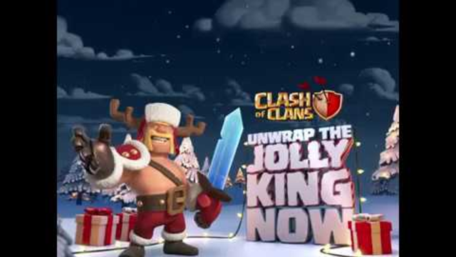 Celebrate Clashmas with the Jolly King skin! (Clash of Clans Season Challenges)