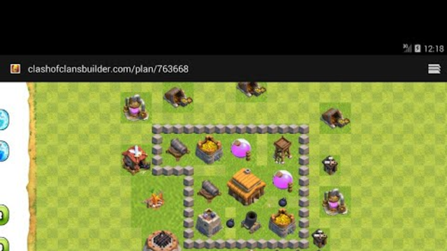 Clash of Clans! TownHall 3 Best Base