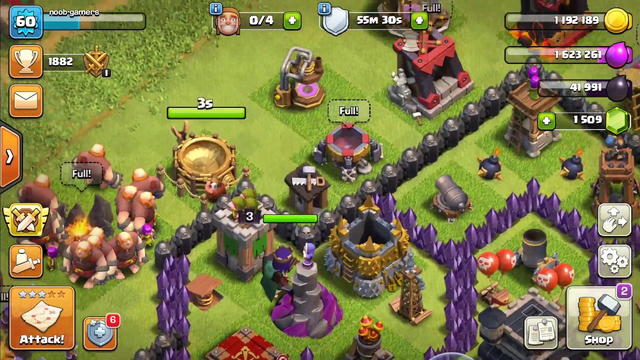 Clash of Clans Gameplay Part 124 !!
