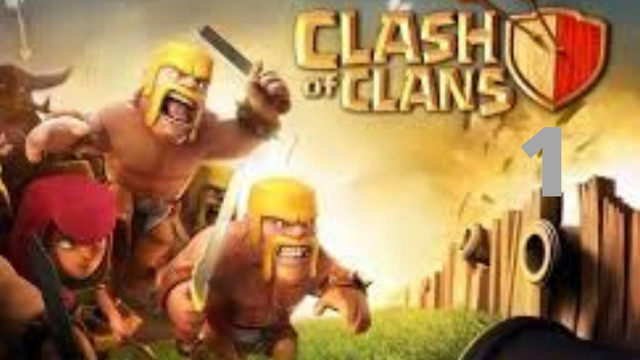 Clash of clan Townhall 1 episode 1 first time on coc