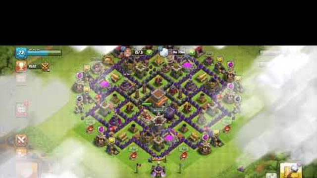 Th8 attacks clash of clans