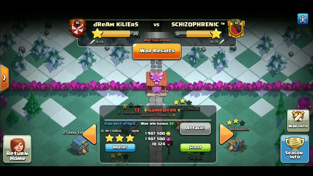 Clash of clans Electro dragon best strategy for th11 clan war league