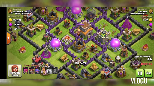 Clash of clans 3 star th8 army