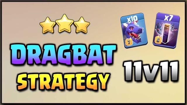 Drag-Bat strategy | Best Air attacks | Dragon Attacks | Clash of clans |