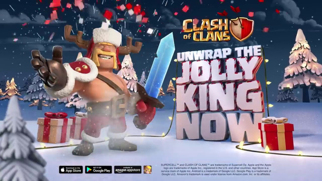 Celebrate Clashmas with the Jolly King skin! Clash of Clans Season Challenges