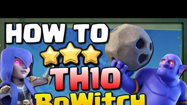 Perfect bowitch attack vs Th10 2019 /CLASH of CLANS