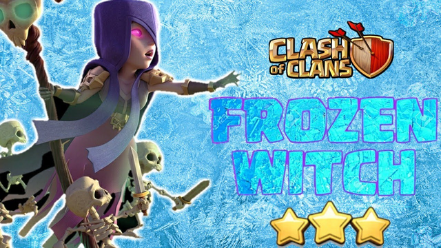 Frozen Witch at TH10 - BEST TH10 Attack Strategy in Clash of Clans(COC)