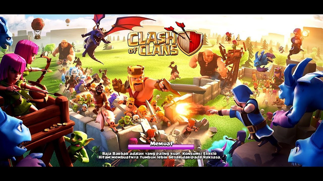 OLD GAME ITS EASY!!! - CLASH OF CLANS INDONESIA
