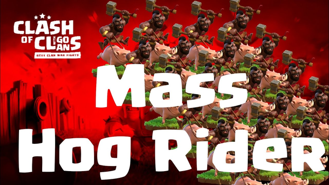 mass hog rider is an easy way to triple TH 12   3 Star Attacks   COC 12/19 clash of clans CW