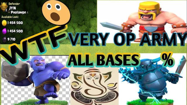 Clash of clans|| The best world record war attacks in CWL.