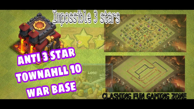 UNBEATEN TH10 WAR BASE! Town Hall 10 WITH LINK | Anti 3 Star | Clash of Clans | COC CLASH WITH MUSIC