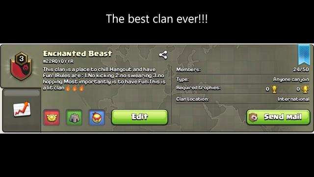 The best clash of clans clan #22rqyqyyr