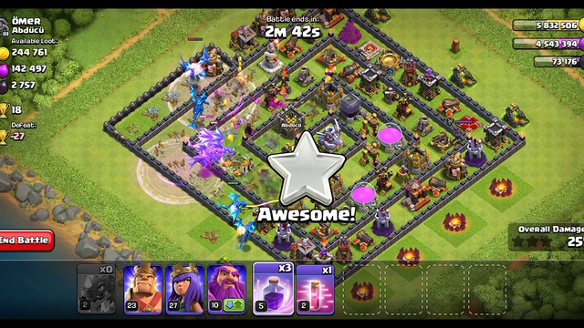 #World_record_Breaker#Clash_of_clans,,Best electro dragon attack,,How earn quick 2star from COC