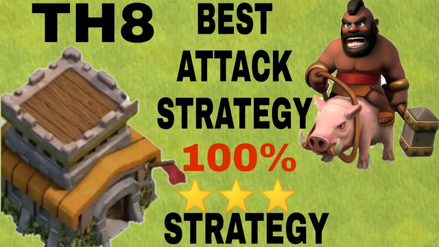 Town hall 8 TH8 Most Heroic War Attacks | TH8 Best War Attack Strategy 2019 | Clash of Clans INDIA
