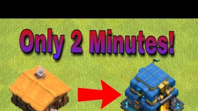 Only 2 Minutes! Th1 To Th12  Base | Clash Of Clans | Krishna Desi Gamer