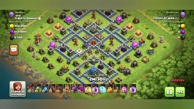 TH12 Legend League Base - With BASE LINK & Replay!-Clash of Clans
