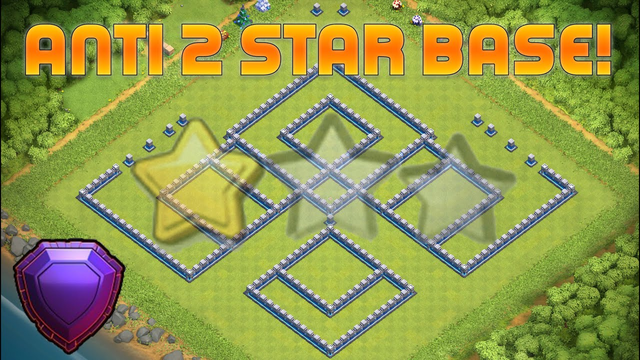 TH12 ANTI 2 STAR WAR BASE - With Base Link - Clash of Clans