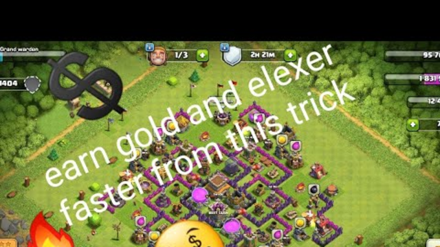 Use these 3tricks to earn money faster in coc!!!