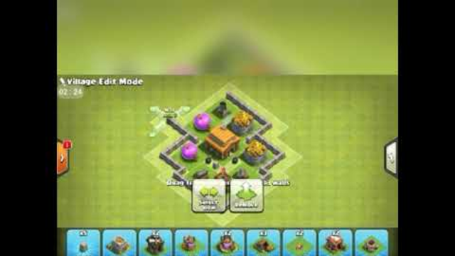 Clash of clans (coc) town hall 3 base