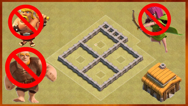Best TH3 Anti 3 Star War Base for 2020 | Clash of Clans