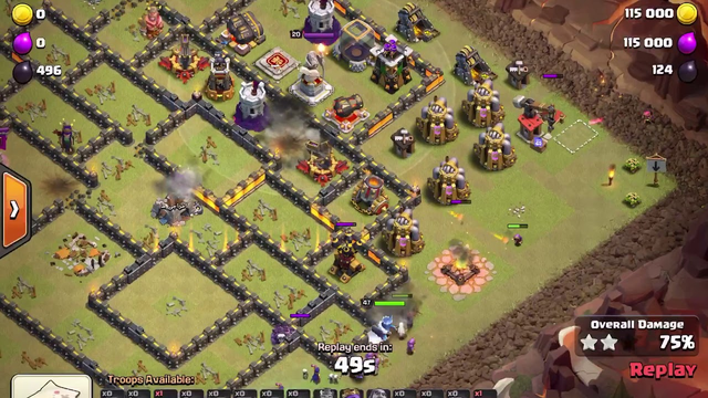 Clash of Clans - TH12 GoBoWitch - 3 Star
