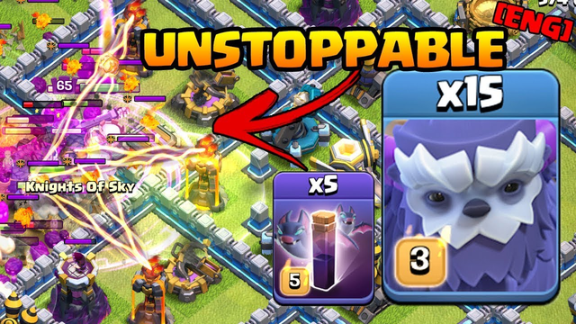 NEW Townhall 13 Strategy 15 Yetis + Bats | BEST TH 13 Strategies in Clash of Clans